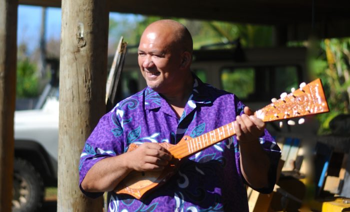 The Ukulele An Instrument Of Happiness Made In Aitutaki