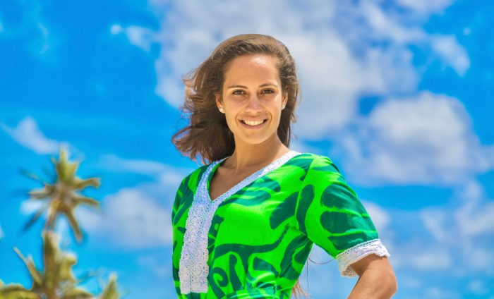Miss Cook Islands 2017 Alanna Smith