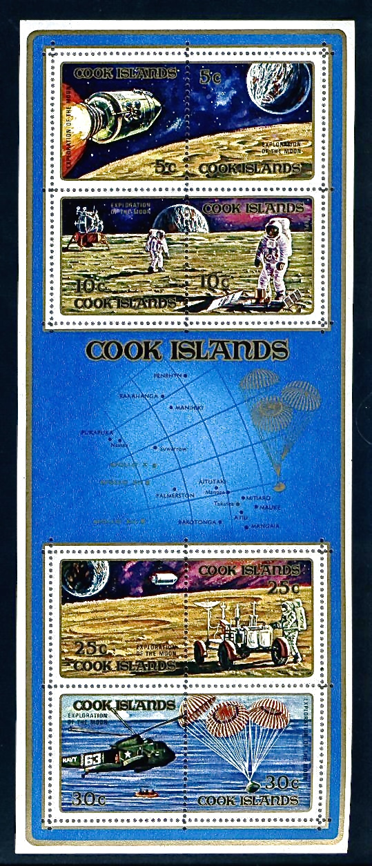 Apollo Cook Islands Stamp